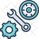 Parts Automobile Automotive Icon