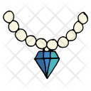 Party Wear Necklace Icon