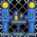 Party Partnership Communication Icon