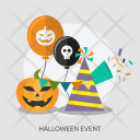 Party Balloon Hat Icon