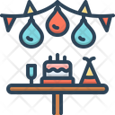 Party Birthday Cake Icon