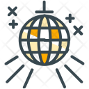 Party Disco Ball Icon