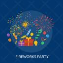 Fireworks Box Gift Icon