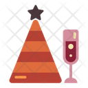 Party Hat Drink Icon