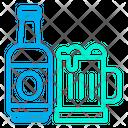 Drinks Bottle Glass Icon