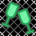 Toasting Cheers Celebration Icon