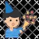 Party Celebration Confetti Icon