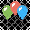 Balloons Celebrations Decorations Icon