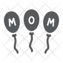 Party Balloons Decoration Icon