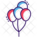 Party Balloons Icon