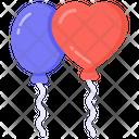 Balloons Party Balloons Decoration Balloons Icon