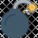 Explosive Pyrotechnic Bomb Icon