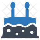 Birthday Party Cake Icon