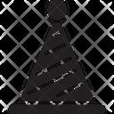 Hat Witch Birthday Cap Icon