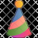 Cone Hat Party Cap Birthday Cap Icon
