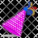 Party Cap Birthday Cap Celebration Cap Icon