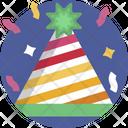 Party Cap Decoration Celebration Icon