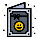 Party Card Birthday Card Wishing Card Icon