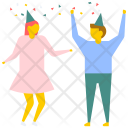 Dance Party Dancing Icon