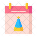 Party Date Birthday Date Birthday Icon