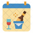Party Calendar Date Icon