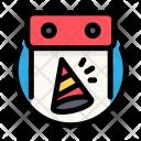 Calendar Birthday Party Icon