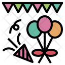 Party Decoration Icon