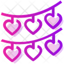 Valentine Day Heart Party Icon