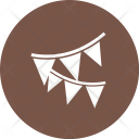 Party Decoration Flag Icon