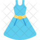 Party Dress Dress Frock Icon