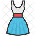 Frock Dress Sundress Icon