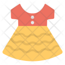 Dress Up Colorful Icon