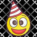 Party Emoticon Icon