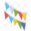 Party Flags Icon