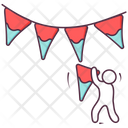 Party Garlands Icon