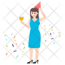 Party Girl Icon