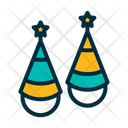 Party Hat Hat Birthday Celebration Icon