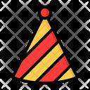 Hat Party Birthday Icon