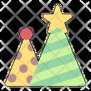 Hat Birthday Party Icon