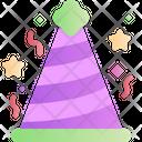 Party Hat Birthday Cap Icon