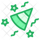 Birthday Party Hat Celebration Icon