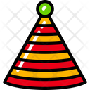 Party Hat Celebration Holidays Icon