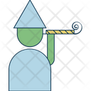 Party Horn Party Whistle Party Decorations Icon