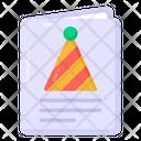 Party Invitation Invitation Letter Birthday Invitation Icon