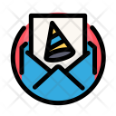 Party invitation Icon