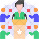 Party Leader Boss Party Icon