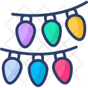 Party Lights Party Rooftop Decoration Icon