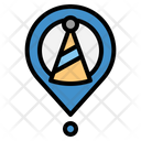 Party Location Party Gps Icon