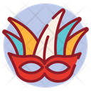 Face Mask Carnival Mask Party Mask Icon