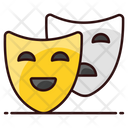 Party Mask Face Mask Theater Mask Icon